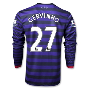 Arsenal 12/13 GERVINHO LS Away Soccer Jersey