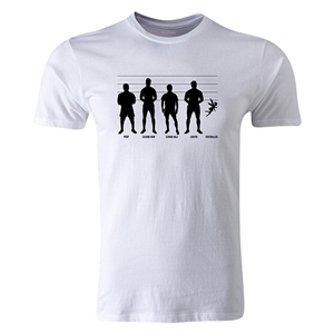 dumpTackle Identity Parade T-Shirt (White)