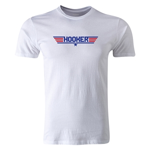 dumpTackle Hooker T-Shirt (White)