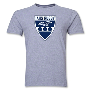 Rugby Iowa Men's Fashion T-Shirt (Gray)