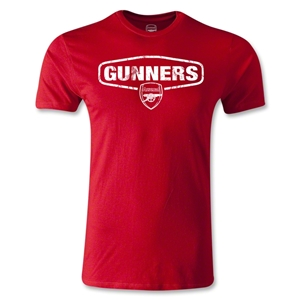 Arsenal Gunners Men's Fashion T-Shirt (Red)