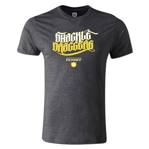 Shackle Draggers Alternative Rugby Commentary T-Shirt (DkGray)
