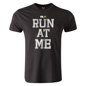BLK Run At Me Premier Supporter T-Shirt (Black)