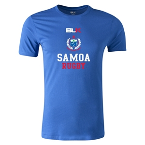 Samoa Rugby Premier Supporter T-Shirt (Royal)