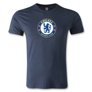 Chelsea Crest Men's Fashion T-Shirt (Navy)