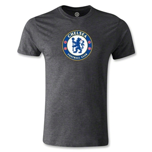 Chelsea Crest Men's Fashion T-Shirt (Dark Gray)