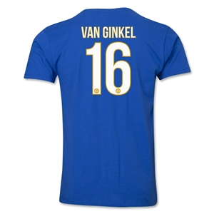 Chelsea van Ginkel Player T-Shirt (Royal)