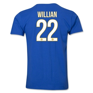Chelsea Willian Player T-Shirt (Royal)