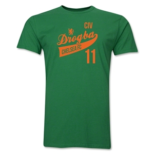 Chelsea Drogba Player T-Shirt (Green)