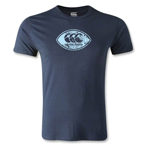 Canterbury CCC Rugby Ball Logo T-Shirt (Navy)