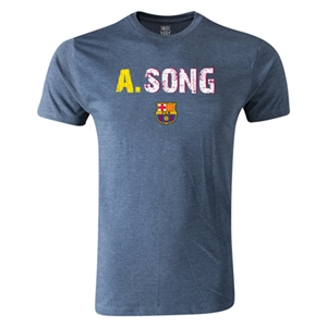 Barcelona A.Song Men's Fashion T-Shirt (Blue)