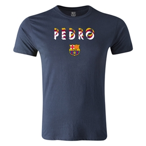 Barcelona Pedro Men's Fashion T-Shirt (Navy)
