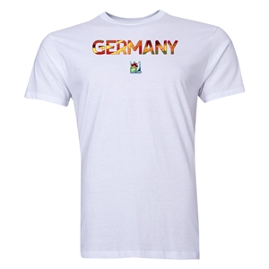 Germany FIFA U-20 Women's World Cup Canada 2014 Men's Core T-Shirt (White)