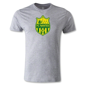 FC Nantes Crest Men's Fashion T-Shirt (Gray)