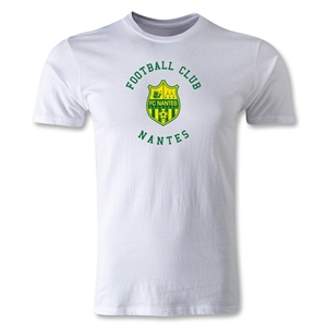 FC Nantes Graphic Men's Fashion T-Shirt (White)