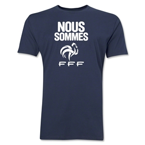 France Nous Sommes Men's Fashion T-Shirt (Navy)