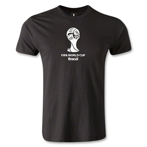 2014 FIFA World Cup Brazil(TM) Men's Premium Emblem T-Shirt (Black)