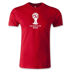2014 FIFA World Cup Brazil(TM) Men's Premium Emblem T-Shirt (Red)