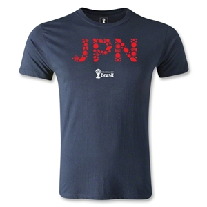 Japan 2014 FIFA World Cup Brazil(TM) Men's Fashion T-Shirt (Navy)