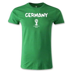 Germany 2014 FIFA World Cup Brazil(TM) Men's Premium Core T-Shirt (Green)