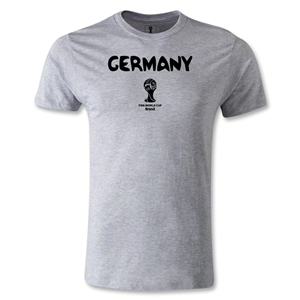 Germany 2014 FIFA World Cup Brazil(TM) Men's Premium Core T-Shirt (Grey)