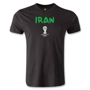 Iran 2014 FIFA World Cup Brazil(TM) Men's Premium Core T-Shirt (Black)