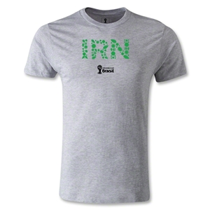 Iran 2014 FIFA World Cup Brazil(TM) Men's Premium Elements T-Shirt (Gray)