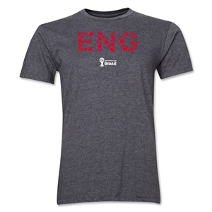 England 2014 FIFA World Cup Brazil(TM) Men's Premium Elements T-Shirt (Dark Grey)
