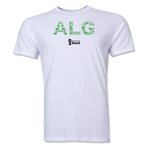 Algeria 2014 FIFA World Cup Brazil(TM) Men's Premium Elements T-Shirt (White)