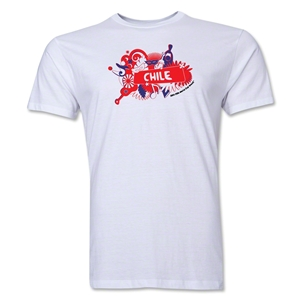 Chile FIFA World Cup Brazil(TM) Men's Premium Celebration T-Shirt (White)