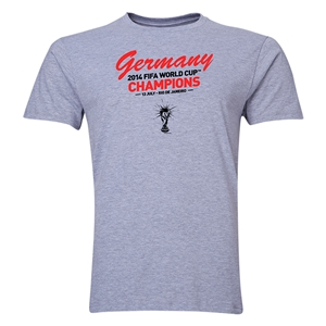 Germany 2014 FIFA World Cup Brazil(TM) Men's Champions T-Shirt (Grey)