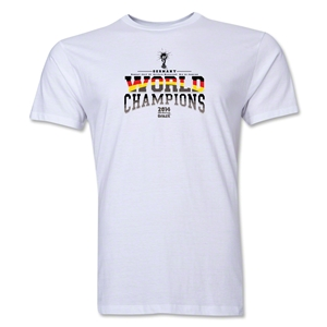 Germany 2014 FIFA World Cup Brazil(TM) Men's World Champions T-Shirt (White)