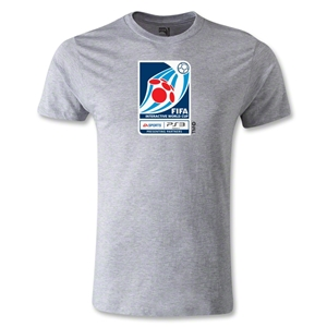 FIFA Interactive World Cup Men's Fashion Emblem T-Shirt (Gray)