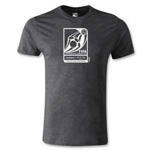 FIFA Interactive World Cup Men's Fashion Emblem T-Shirt (Dark Gray)