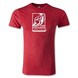 FIFA Interactive World Cup Men's Fashion Emblem T-Shirt (Heather Red)