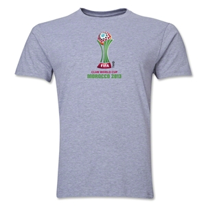 FIFA Club World Cup Morocco 2013 Men's Official Emblem T-Shirt (Grey)