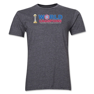 Bayern Munich FIFA Club World Cup 2013 Champions Men's T-Shirt (Dark Gray)