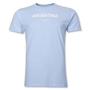 Argentina 2013 FIFA U-17 World Cup UAE Men's Premium T-Shirt (Sky)