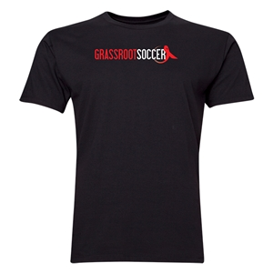 Grassroot Soccer Men's Fashion T-Shirt (Black)