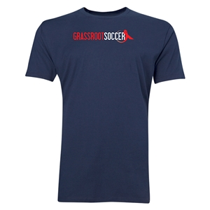 Grassroot Soccer Men's Fashion T-Shirt (Navy)