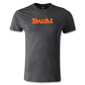 Jaguares de Chiapas Balam Men's Fashion T-Shirt (Dark Gray)