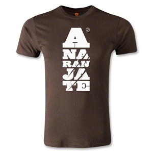 Jaguares de Chiapas Distressed Logo Men's Fashion T-Shirt (Brown)