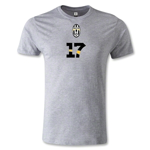 Juventus #17 T-Shirt (Gray)