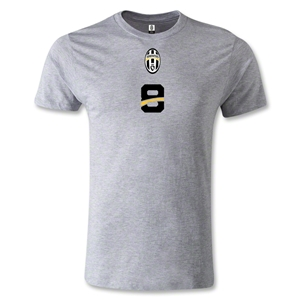 Juventus #8 T-Shirt (Gray)