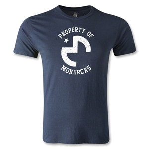 Morelia Monarcas Property Men's Fashion T-Shirt (Navy)