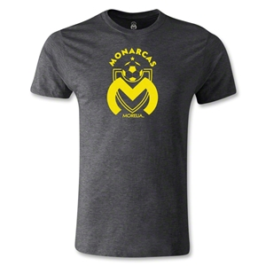 Morelia Monarcas Logo Men's Fashion T-Shirt (Dark Gray)