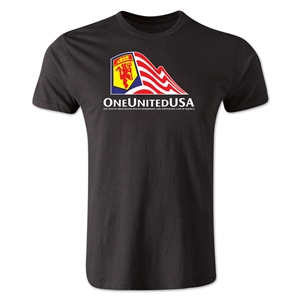 One United USA Men's Fashion T-Shirt (Black)