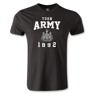 Newcastle United Toon Army Men's Fashion T-Shirt (Black)