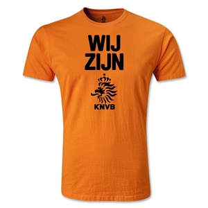 Netherlands We Are Men's Fashion T-Shirt (Orange)