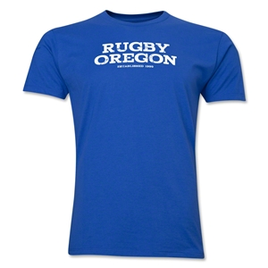 Rugby Oregon Premier T-Shirt (Royal)